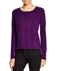 Dylan Gray Lace Back Sweater