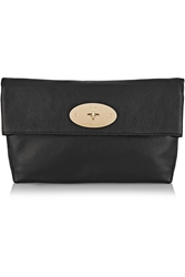 Mulberry Clemmie Textured Leather Clutch