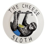 Jimbobart 'The Cheese Sloth' Side Plate