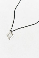 Icon Brand Time Capsule Necklace Silver