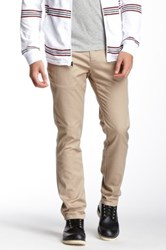 Micros Slim Fit Chino Pant Beige