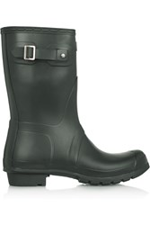 Hunter Short Wellington Boots Gray