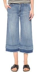 Current Elliott The Cropped Hampden Jeans Bombshell With Released Hem