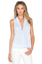Central Park West Bodrum Layered Stripe Tank Blue