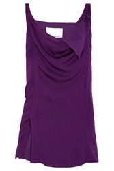 3.1 Phillip Lim Chiffon Twist Sleeveless Top