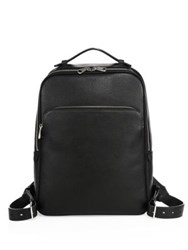 Bally Calf Leather Backpack Black