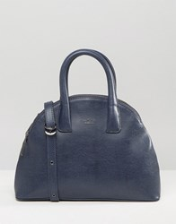 Matt And Nat Mini Round Tote Bag Midnight Blue