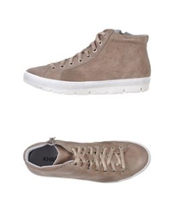 Khrio' High Tops And Trainers Dove Grey