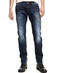 Gstar G Star 3301 Low Rise Tapered Jeans Medium Aged Wash