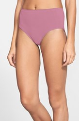 Nordstrom Women's Lingerie Seamless Full Briefs Purple Bordeaux