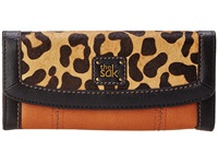 The Sak Iris Flap Wallet Leopard Block Wallet Handbags Animal Print