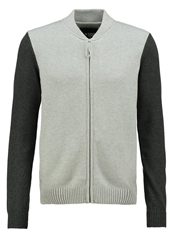 Your Turn Cardigan Light Grey Melange Mottled Light Grey