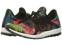 Adidas Pure Boost X Core Black Core Black Ray Red Women's Running Shoes Multi