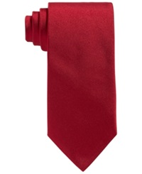 Brooks Brothers Repp Solid Tie Red