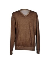 Alpha Studio Sweaters Brown