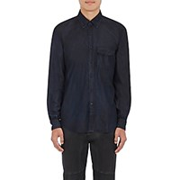 Belstaff Men's Cotton Samuel Button Down Shirt Navy