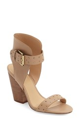 Joe's Jeans Women's 'Vance' Studded Sandal Latte Leather