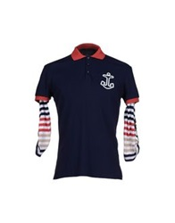 Antony Morato Polo Shirts Dark Blue