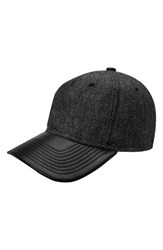 Gents Men's Jose Herringbone Baseball Cap