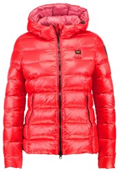 Blauer Down Jacket Red