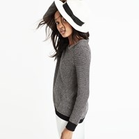 Madewell Riverside Pullover Sweater In Dotweave
