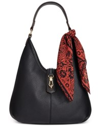 Tignanello Cargo Hobo Bag Black