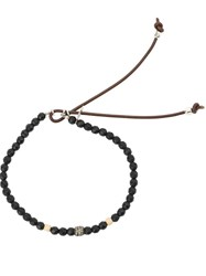 Catherine Michiels Beaded Bracelet Black
