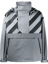 Moncler X Off White 'Donville' Jacket Grey