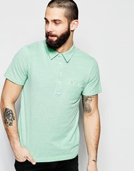 Farah Polo Shirt With Pocket Regular Fit Grass Green