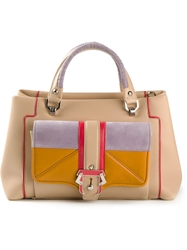 Paula Cademartori 'Lisa' Tote Nude And Neutrals