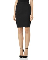 Reiss Dartmouth Pencil Skirt Black