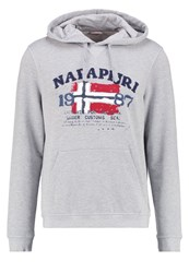 Napapijri Bayky Sweatshirt Light Grey Mel Mottled Light Grey