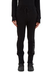 Y 3 Ribbed Cuff Track Pants Black