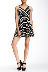 Romeo And Juliet Couture Striped Fit And Flare Dress Multi