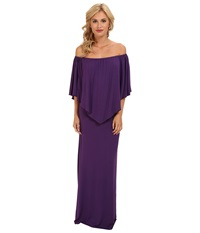 Culture Phit Ayden Dress Dark Purple Women's Dress