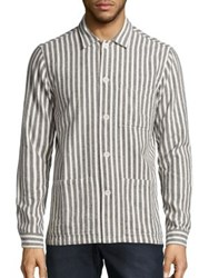 Wesc Orlando Long Sleeve Shirt Off White