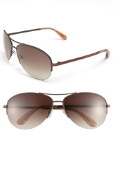 Marc By Marc Jacobs Aviator Sunglasses Brown