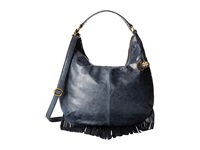 Lucky Brand Bailey Convertible Hobo Black Hobo Handbags