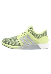 Adidas Performance Solar Boost Cushioned Running Shoes Semi Frozen Yellow Silver Metallic Frozen Yellow