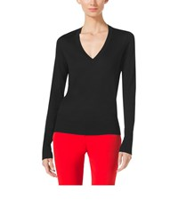 Michael Kors Silk V Neck Sweater