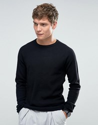 Selected Homme Crew Neck Knit Black