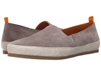 Mulo Suede Espadrille Taupe Men's Shoes