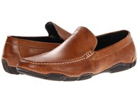 Kenneth Cole Reaction De Tour Cognac Men's Slip On Dress Shoes Tan