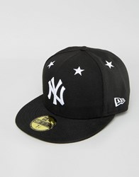 New Era 59Fifty Cap Fitted Ny Yankees Black