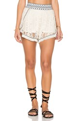 Endless Rose Woven Short Neutral