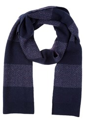 Lyle And Scott Scarf Navy Blue