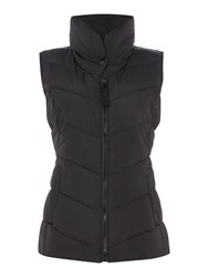 Joules Padded Collar Gilet Black