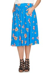 Women's Cece By Cynthia Steffe 'Floral Delight' Print Full Skirt