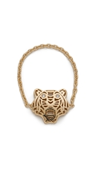 Kenzo Mini Tiger Ring Gold