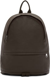 A.P.C. Brown Coated Stefan Backpack